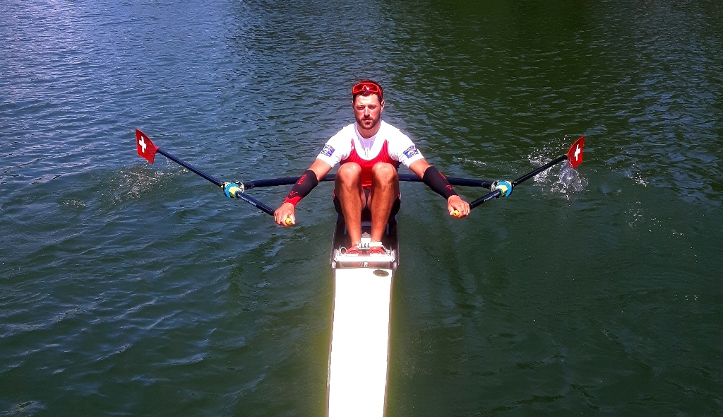 Nico Stahlberg Swiss Heavyweigth Rowing Team and VERTICS.Sleeves