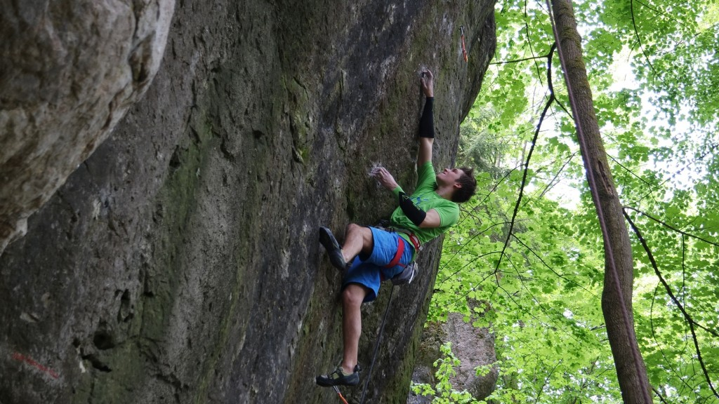 Ruben Firnenburg in The Essential, 9a, Frankenjura